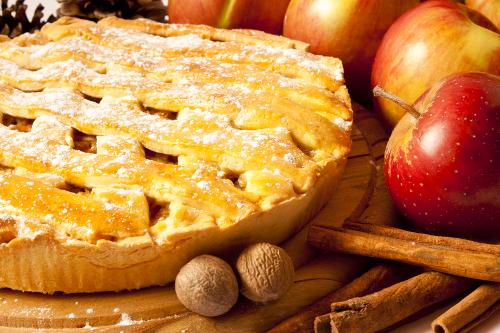placinta cu mere