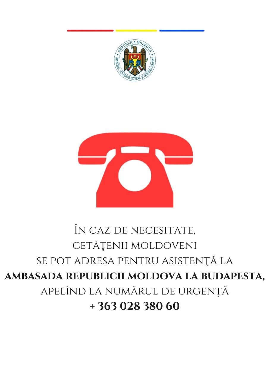 Numar de urgenta Budapesta