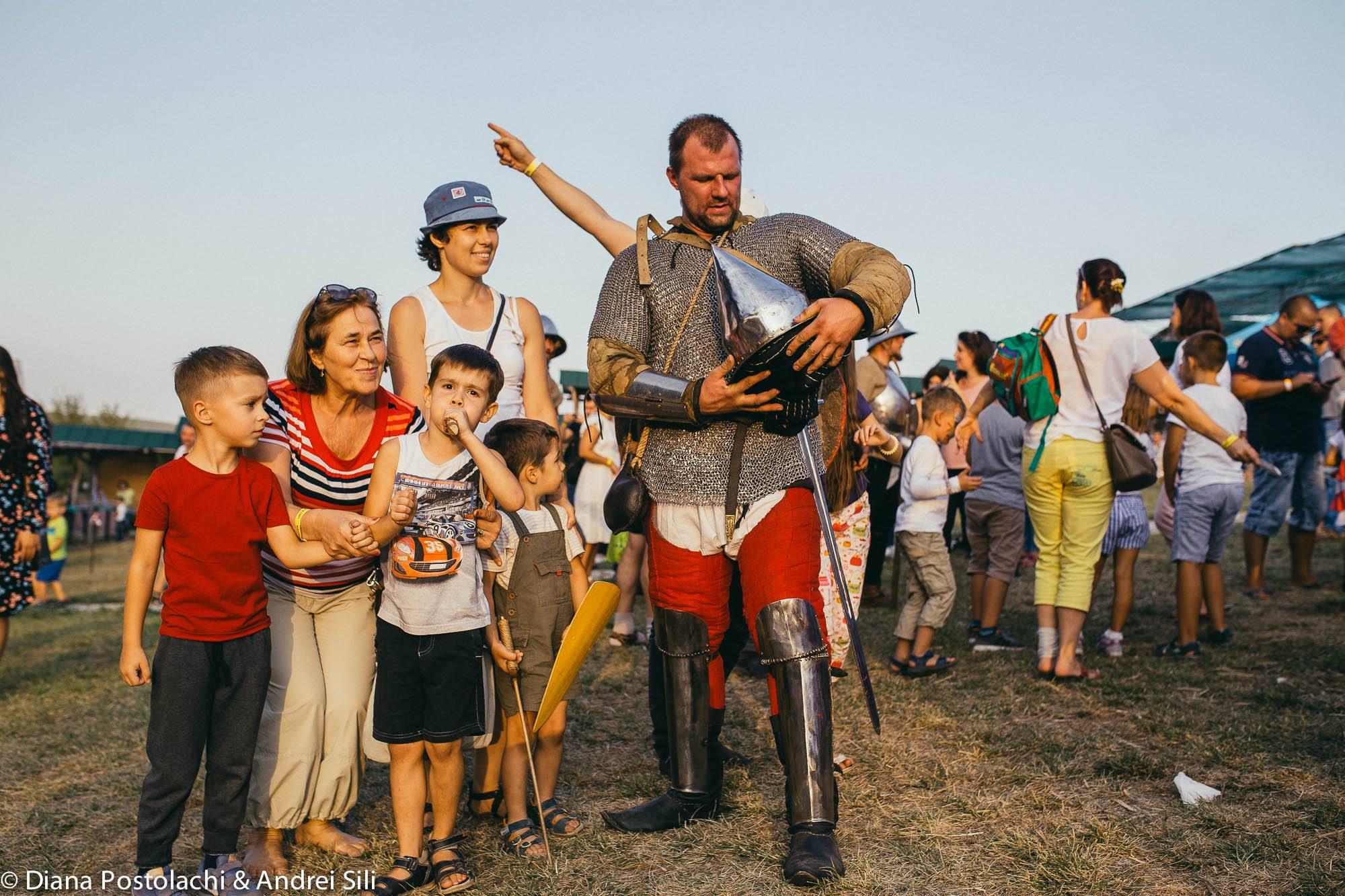 foto cu cavaleri festival medieval 2018 vatra md