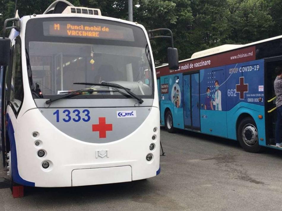 autobus vaccinare
